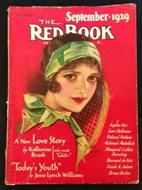 """The Red Book"" with Earl Christy Cover Artwork- September 1929"
