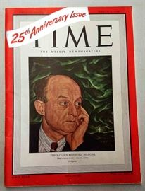 25th Anniversary Edition of Time Magazine (1948)