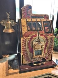 War Eagle slot machine.
