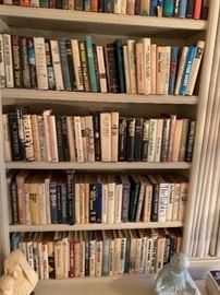 Hundreds of books.