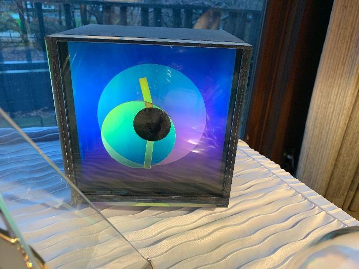Prisma clock