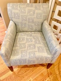 Upholstered chair (1 of 2)