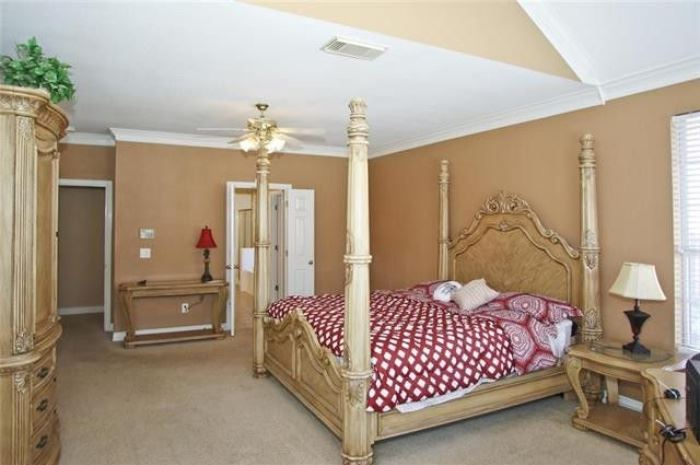 French Giverny Collection King Four Poster Bed