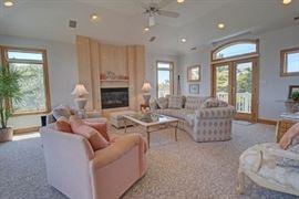 Elegant living room furnishings
