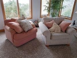 Comfortable swivel chairs