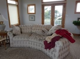 Curvy couch by Lane