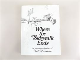 """First Edition """"Where The Sidewalk Ends"""" Hardcover Book"""