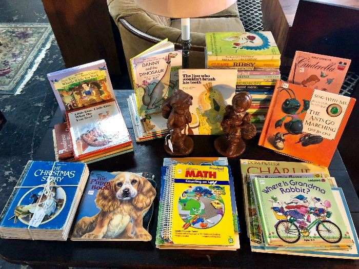 A closer look at the vintage children's books