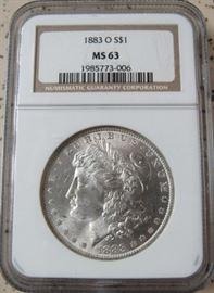 NGC 1883-O Morgan Dollar