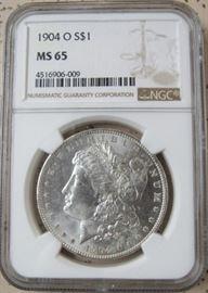NGC 1904-O  Morgan Dollar