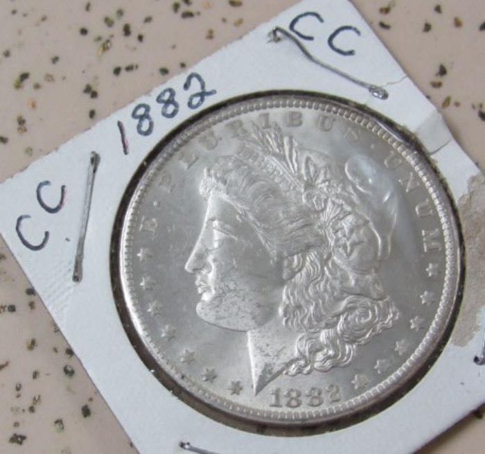 1882 Carson City Silver Dollar