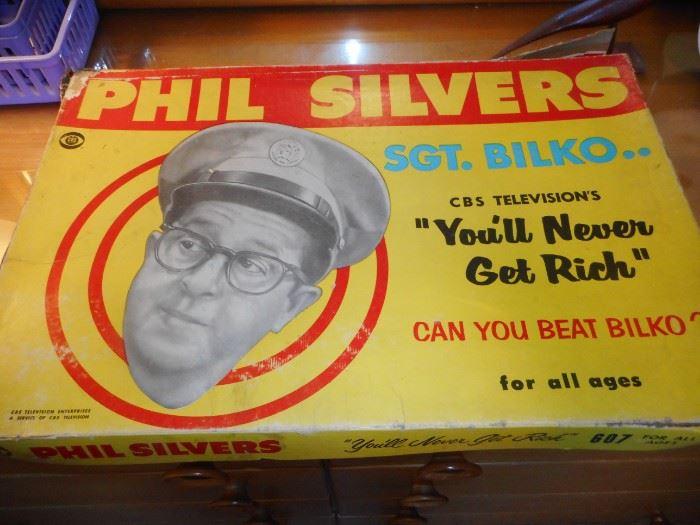 Vintage Sgt Bilko Phil Silvers Board Game