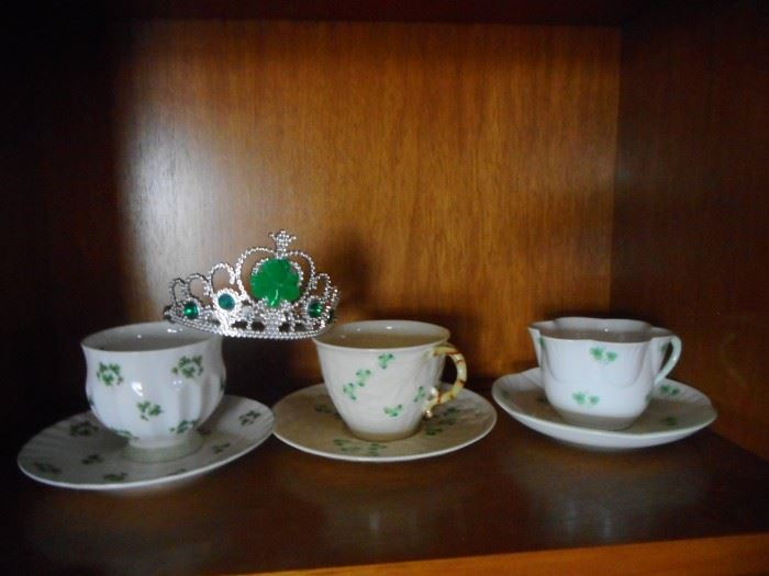 Tea Cup Collection. Beleek