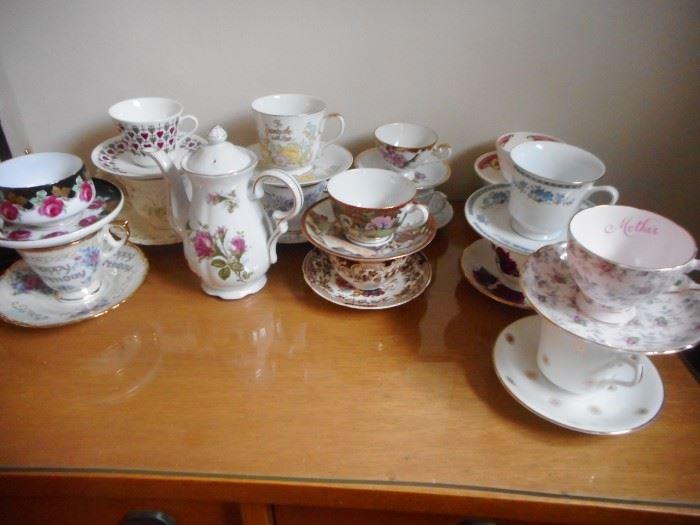 Some more Tea Cups..SPOT of Tea Please?