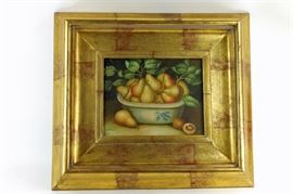 Robert Grace framed painting