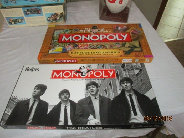 Collectible Monopoly games