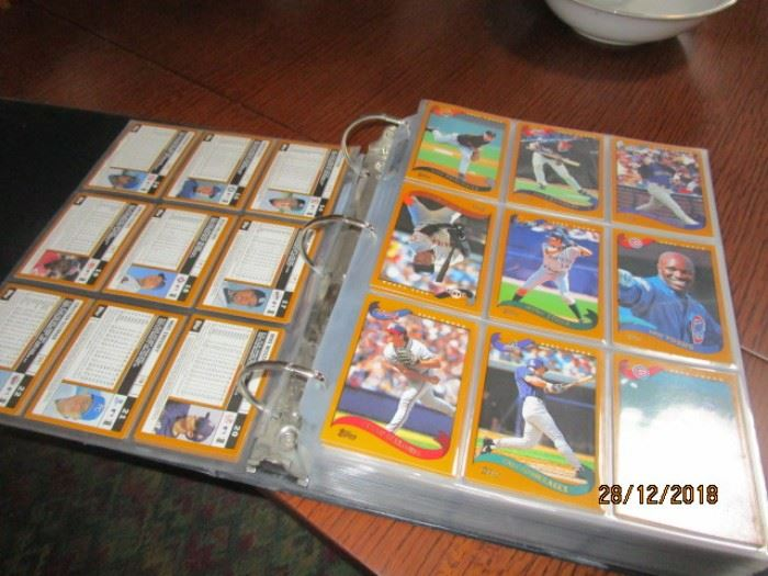 BASEBALL  CARDS MOSTLY 1980S AND 1990S