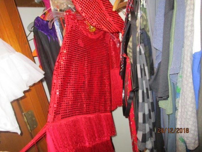 CHILDREN'S SEQUINNED FLAPPER DRESSES