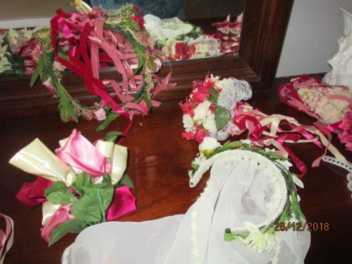 WEDDING FLOWERS AND TIARAS