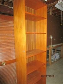 ONE OF TWO BOOK SHELVES