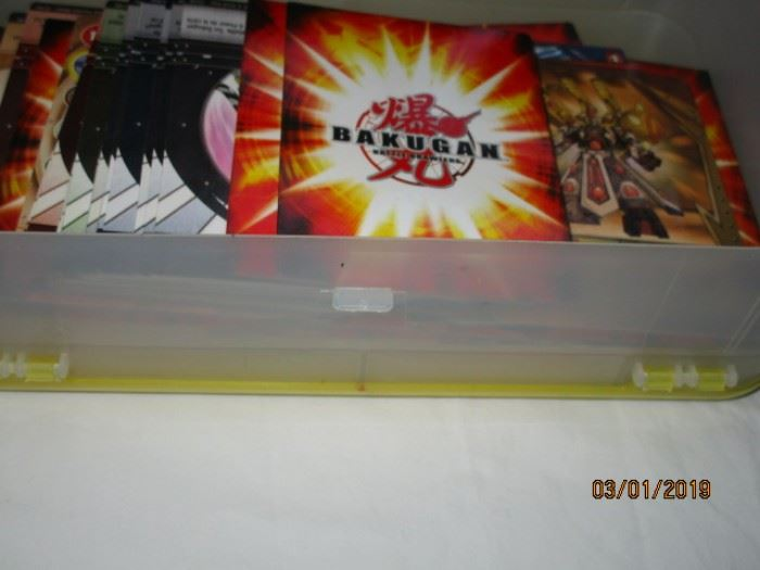 Bakugan Battle Brawlers cards