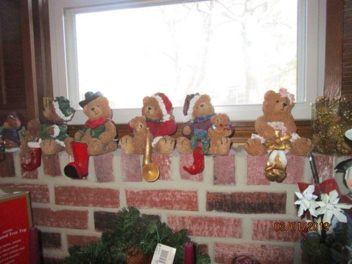 Cute stocking hangers