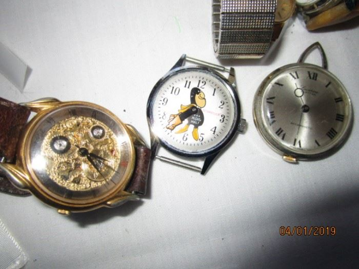 Budweiser watch in the middle
