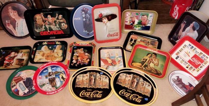 Coca-Cola Trays