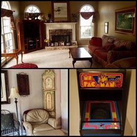 Ms. Pacman Midway Arcade Machine