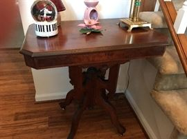 Antique Victorian Eastlake Parlor Table