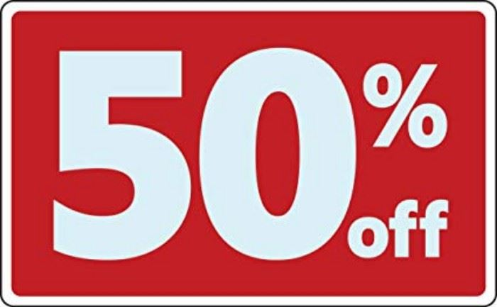 50% OFF TODAY - Everything needs to be liquidated.  We also bundle which means the more you buy, you may be able to save in excess of 50%!!! YAY!!!