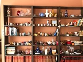 Bookcases & collectibles!