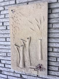 Original sandcast wall art