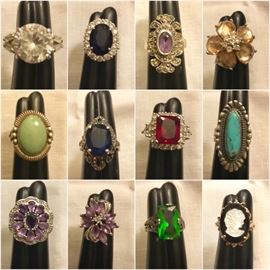 Lots of costume jewelry!