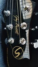 Both Guitars are George Bennett Design