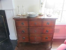 PAIR OF THESE REPRODUCTION LOUIS 15TH COMMODES