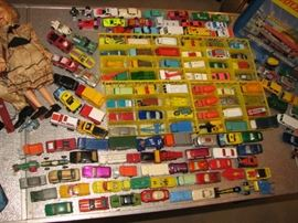 Vintage Hot Wheels & Matchbox cars