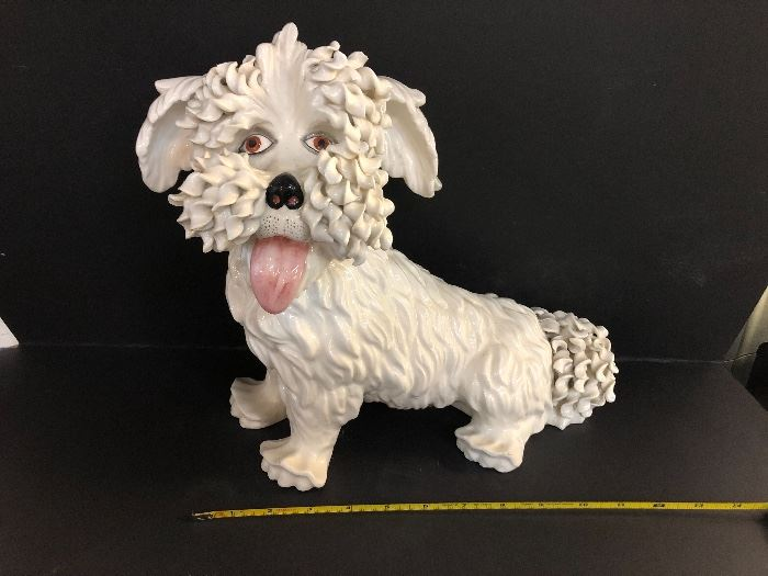 Italy Dog Statue