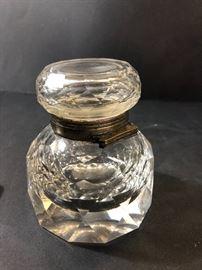 Crystal inkwell