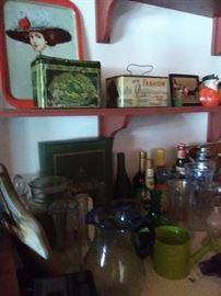 Lots of original old tins