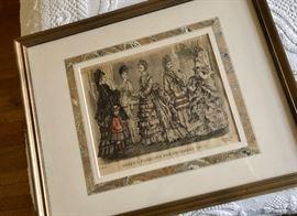 Antique prints & wall decor
