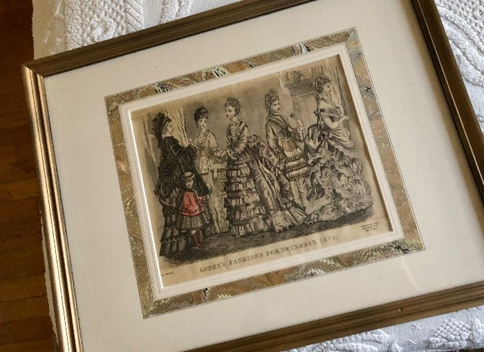 Antique prints & wall decor