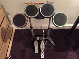 Drum Kit For Video Games.