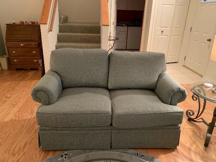 Mint condition!  Harden down filled Love Seats