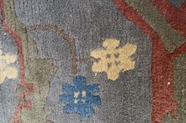 These carpets are so nice, all hand-knotted wool.  They were purchased all around the world.