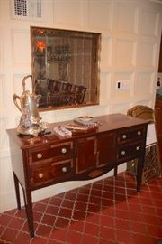 Mid-sized Sideboard and Mirror