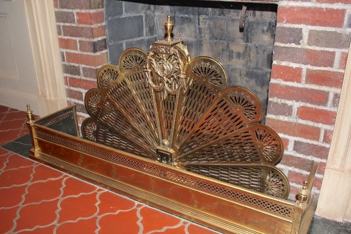 Fireplace Fenders and Andirons