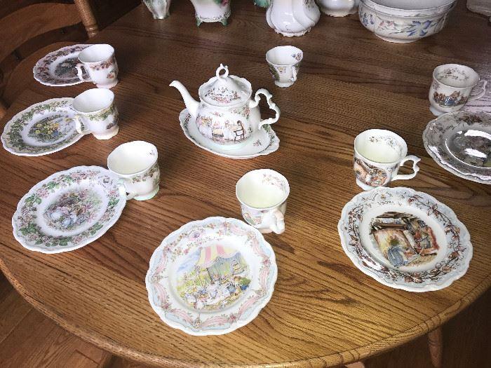 Royal Doulton Brambley Hedge china Beattrix Potter
