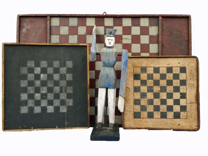 Primitive Game Boards, Whirly Gig