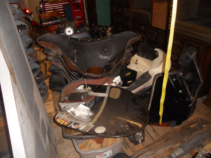 Motorcycle Parts mostly Honda